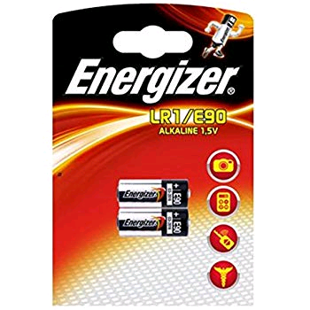 Energizer LR1/E90 Battery Twin Pack
