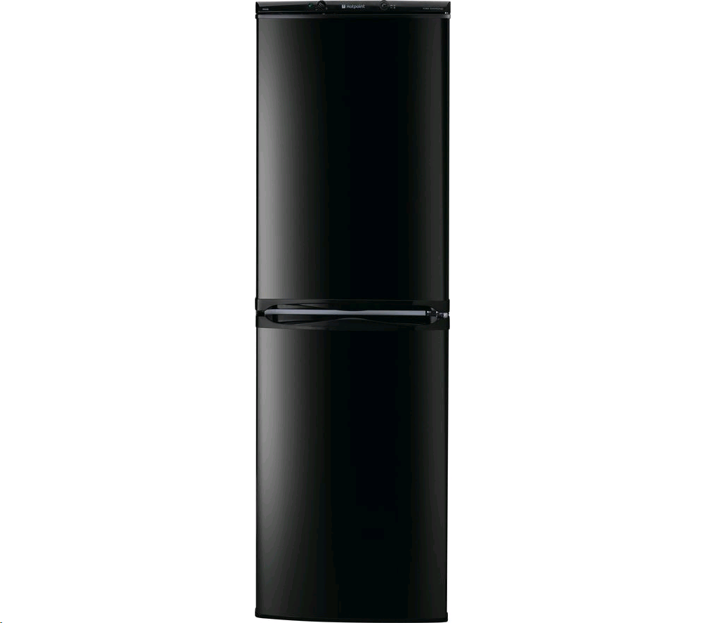 Hotpoint Aquarius Fridge Freezer Frost Free 1.5m 54.5 A+ BLACK