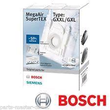 Bosch Vacuum Cleaner Bag Type G (4 Pack)