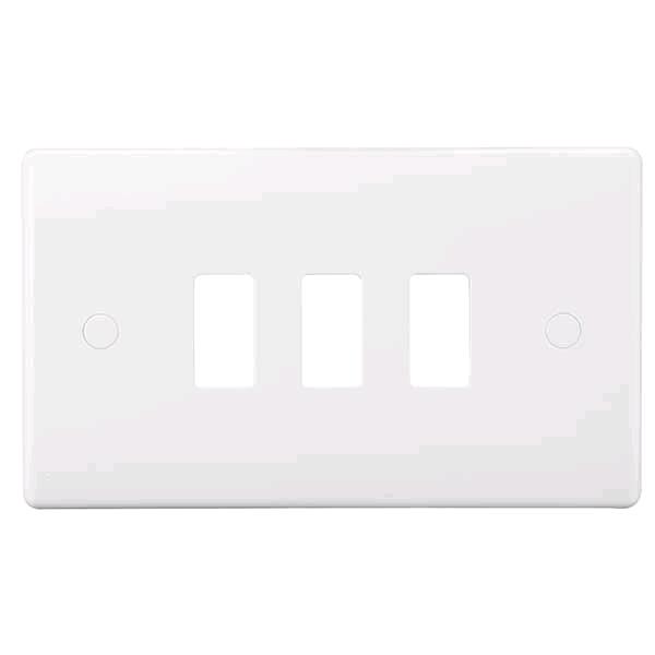 BG Nexus 3gang Moulded Grid Cover