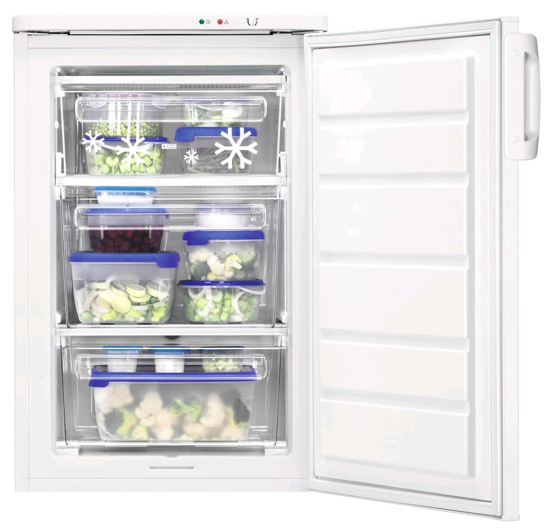 ZANUSSI 55cm wide Undercounter Freezer