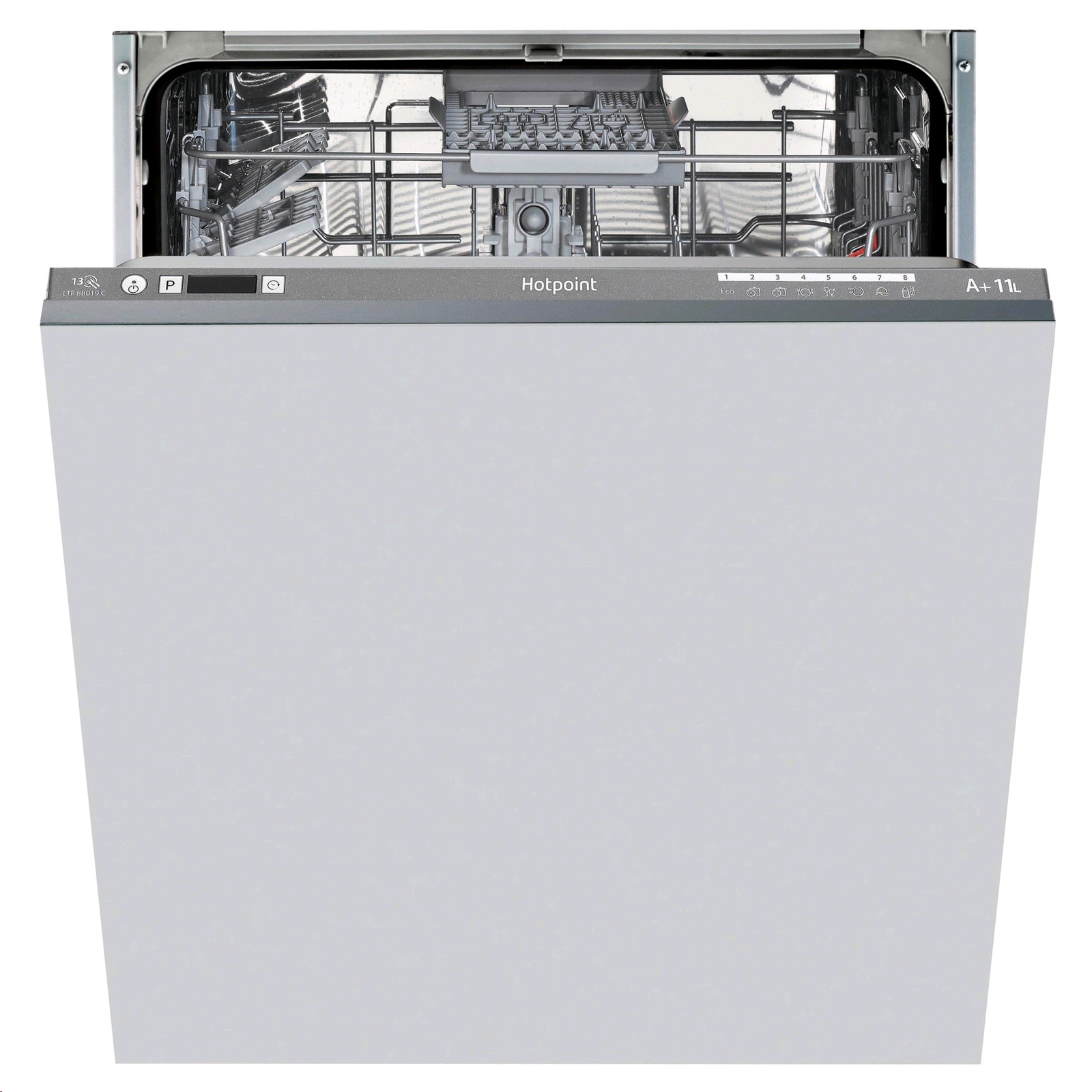 Hotpoint Fully Integrated Dishwasher 13 Place Settings