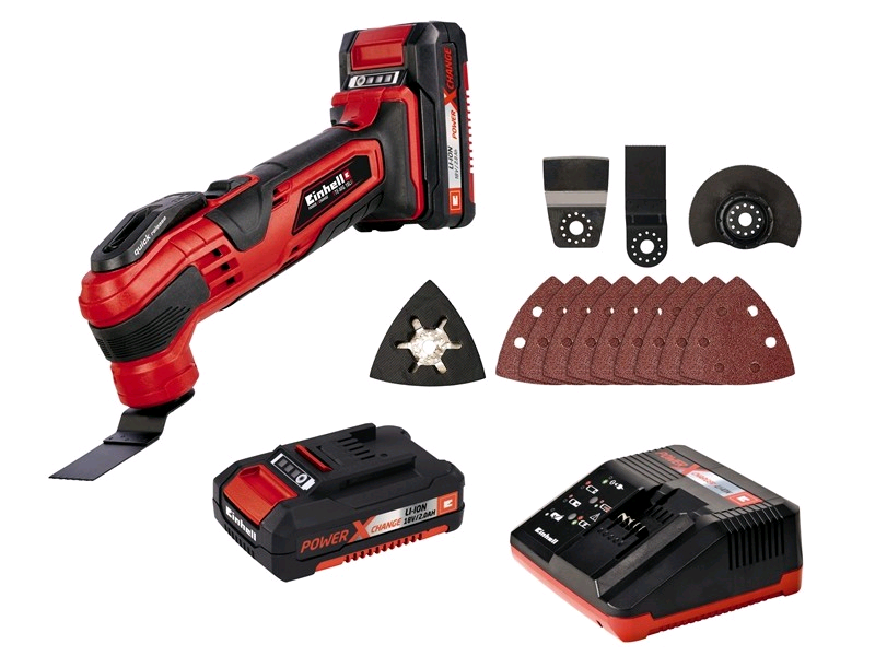 Einhell TE MG18LI Kit Cordless Multi-Tool