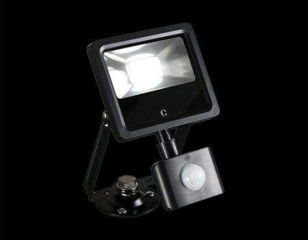 Collingwood 10W LED PIR Floodlight Colour Switchable IP44