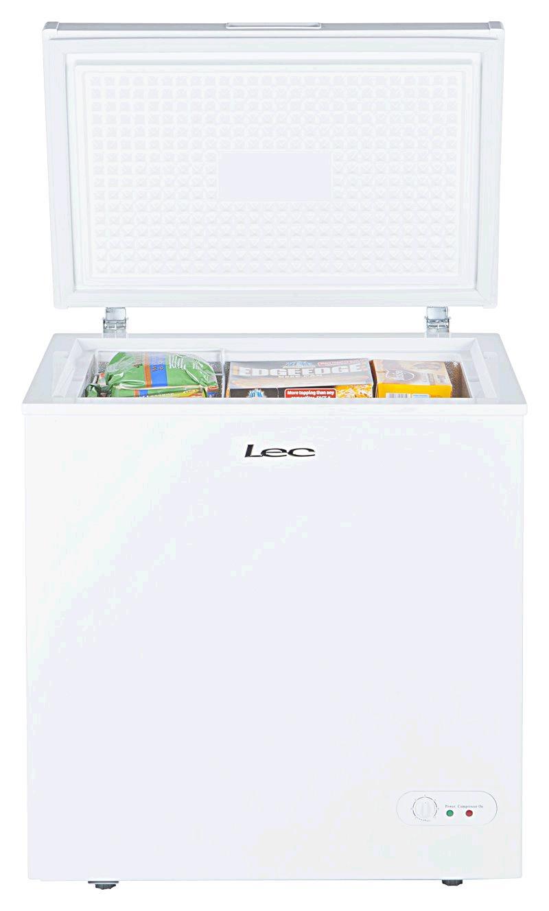 Lec Chest Freezer 155 litre Width 73cm