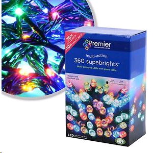 Premier 360 Superbright MULTICOLO String Lights + Controler