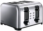 Russel Hobbs 4 Slice Wide Slot Toaster