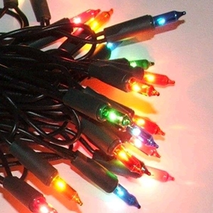 Alderbrook AK502gm 100 Multi Coloured Shadeless Fairy Lights