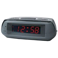 Acctim Metizo Mains Alarm Clock - No Radio