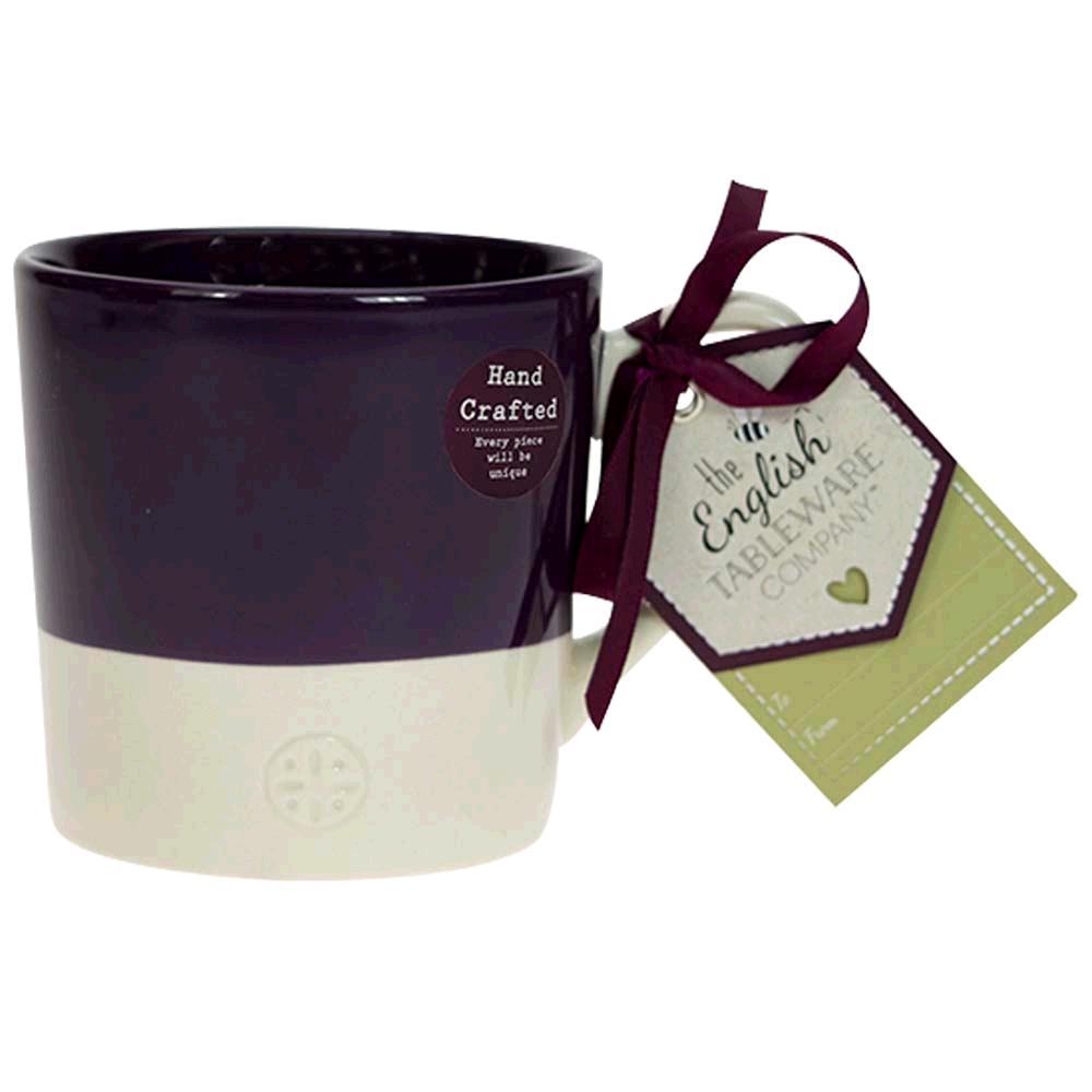 English Tableware Company DD0809C36 Artisan  Fine China Mug Blackcurrant