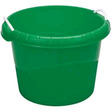 Draper 45L Plastic Rope Bucket Green