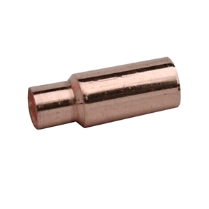 Copper Reducing Coupler 15mm x 10mm Long Tail Endfeed