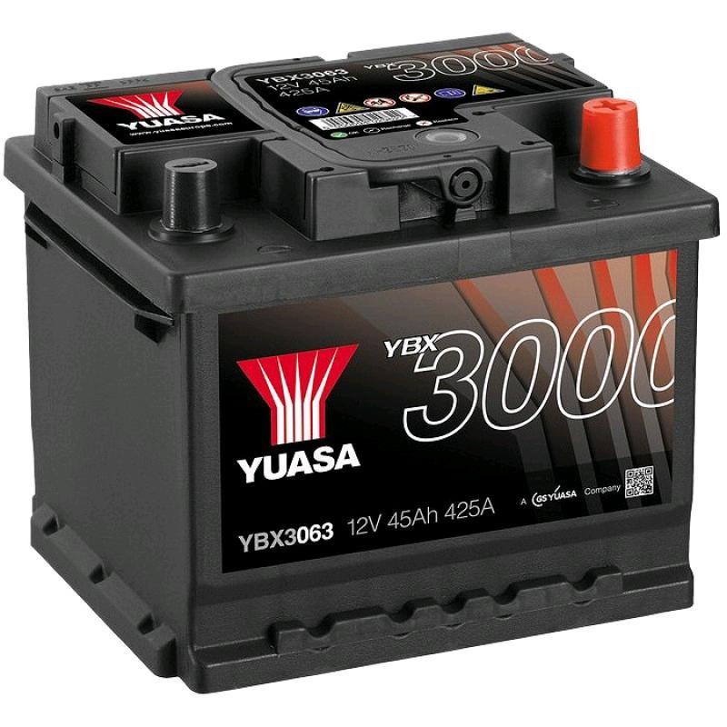 Yuasa 12V 45Ah 425A SMF Battery