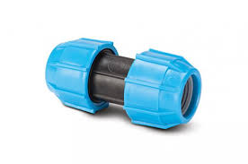 Polypipe Straight Coupler 40mm (for MDPE)