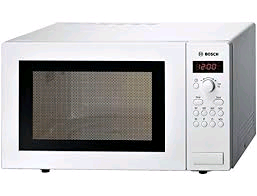 Bosch 900w Microwave 25ltr Digital Display White