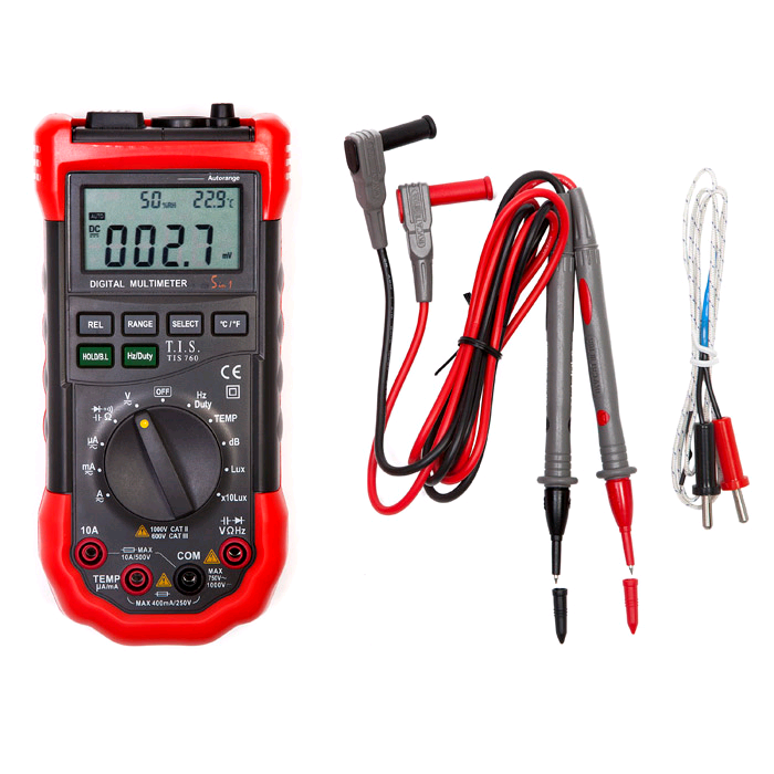 TIS Auto Ranging Multifunction Multimeter