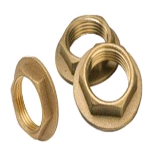 Brass Back Nut 1""