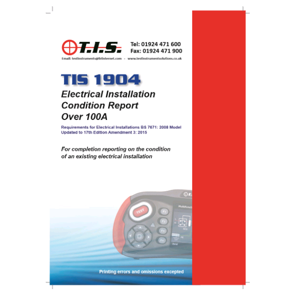 TIS Electrical Condition Report