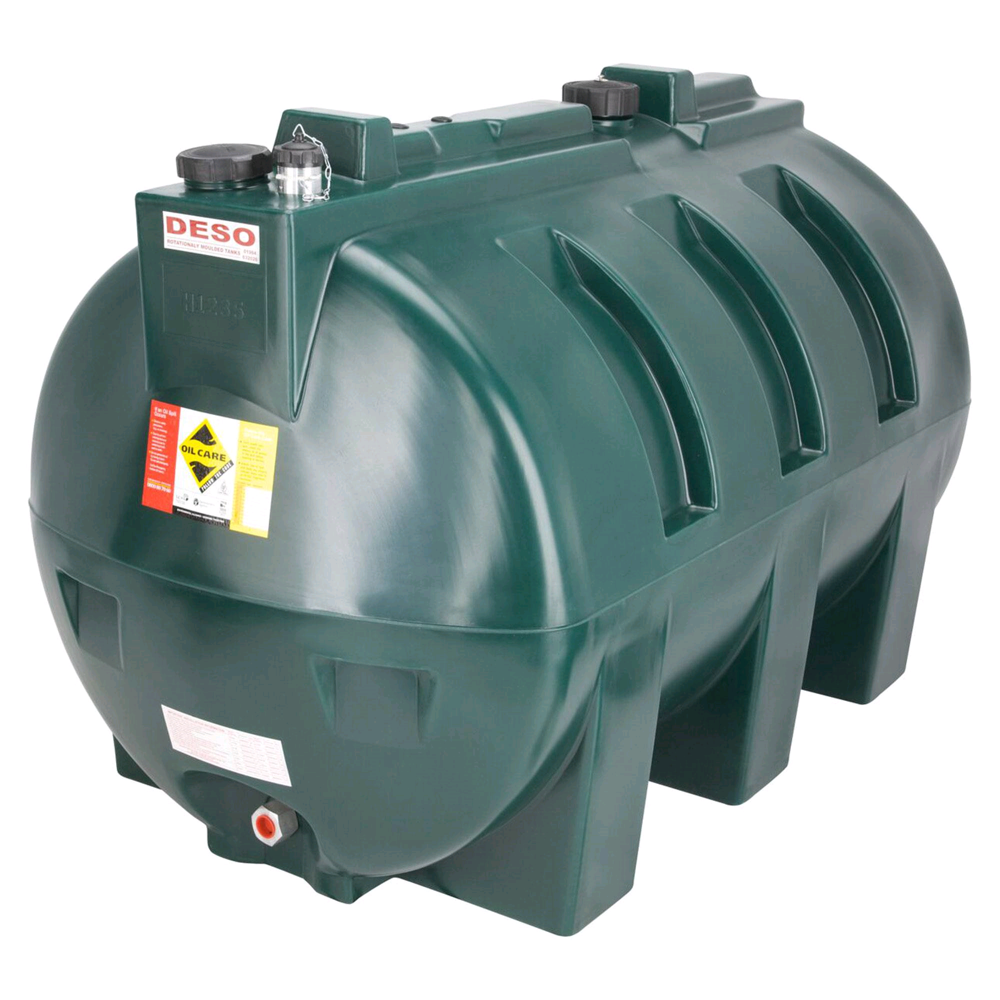 Deso 1235ltr Bunded Oil Tank (Loaf Type)
