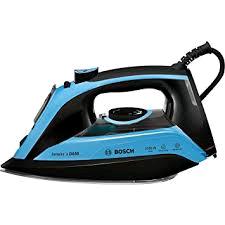 Bosch 3100W Blue/Black Ceranium Glissee Soleplate Steam Iron