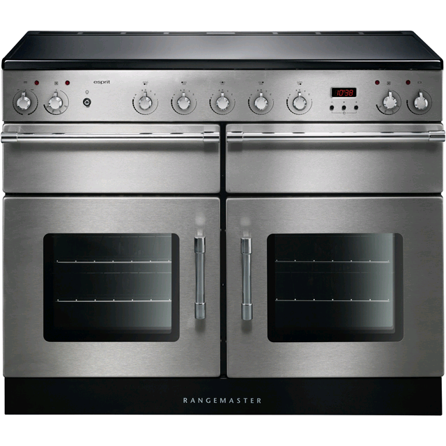 Rangemaster Esprit 110cm Electric Range Cooker Induction Hob Stainless Steel