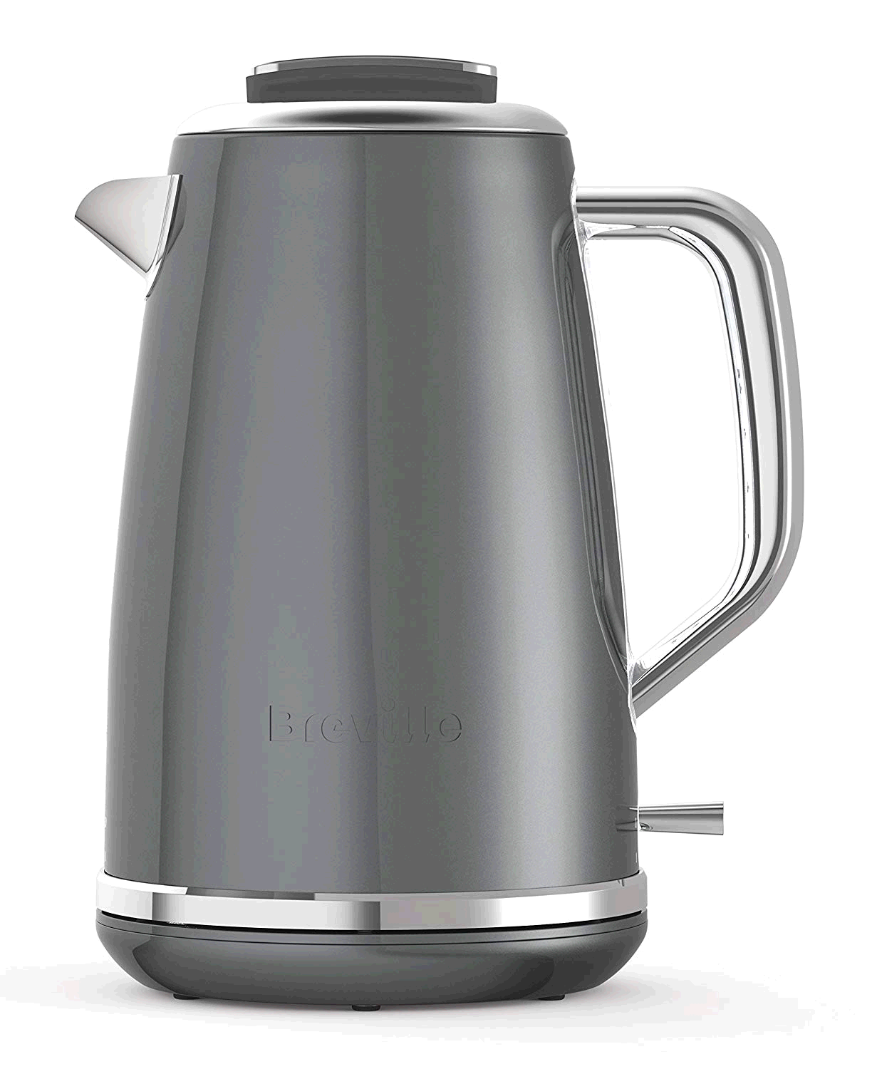 Breville Lustra Electric Jug Kettle Stainless Steel Storm Grey 1.7ltr 3Kw