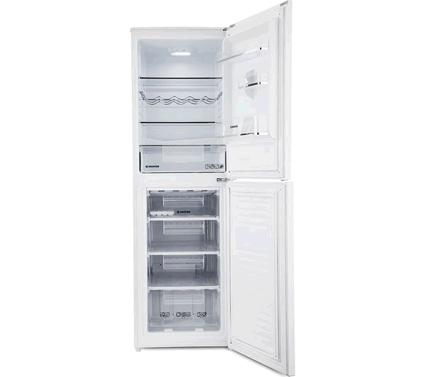 Hoover HCS5172WK H 177m 55 wide 4 drawer Freezer Maetal Backed White A+ Manual Defrost 140/102Litre