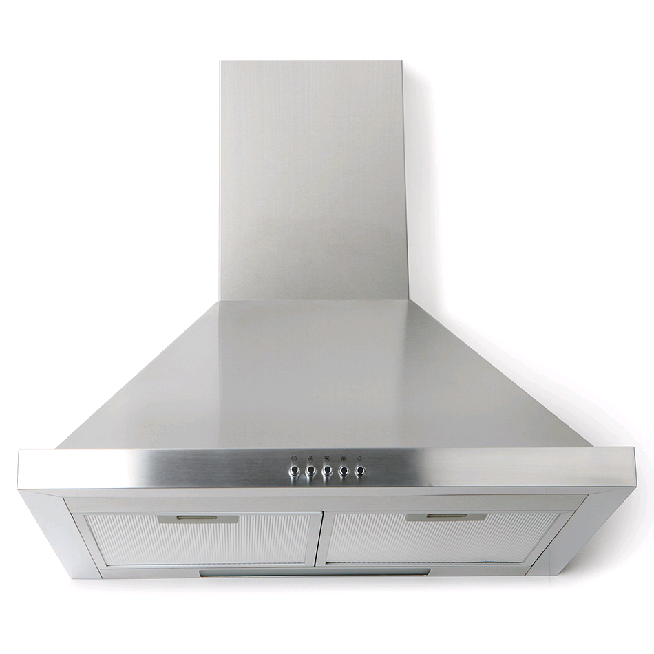 Montpellier 60cm Chimmney Hood 3 Speed Stainless Steel