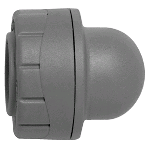 Polypipe Polyplumb 22mm Socket Blank End