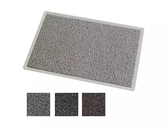 JVL Doormat Mud Grabber 60x40cm 3211155 Mud Grabber Mat 01-774