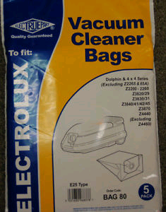 Electrolux Cylinder Cleaner Bags for Dolphin & 4 x 4 Series