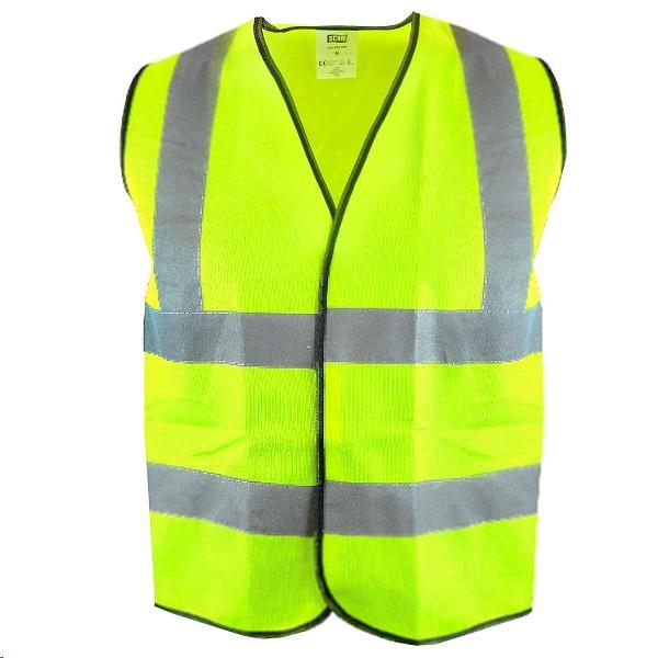 Scan Hi-Vis Waistcoat Yellow Large