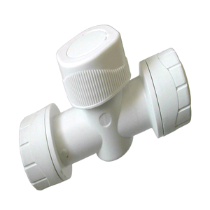 Polyplumb Shut-Off Valve 15mm x 15mm