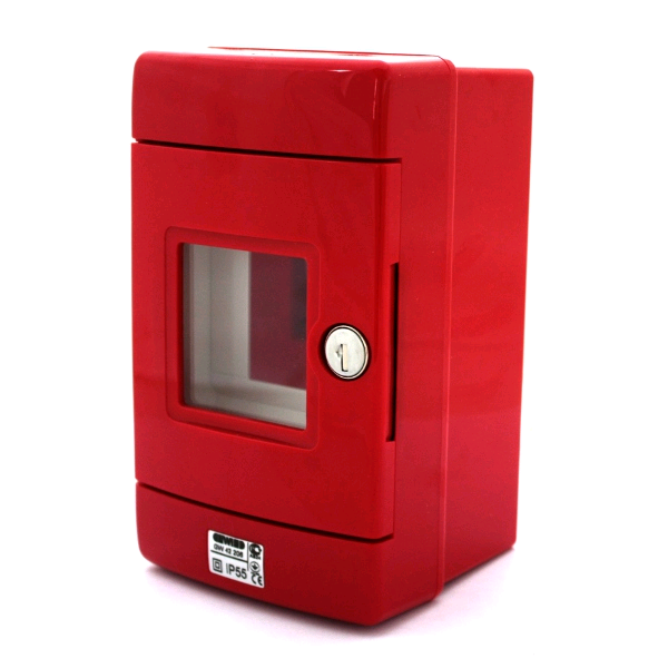 Gewiss Red Enclosures