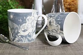 English Tableware Company DD0809A23 Artisan Fine China Mug Hare