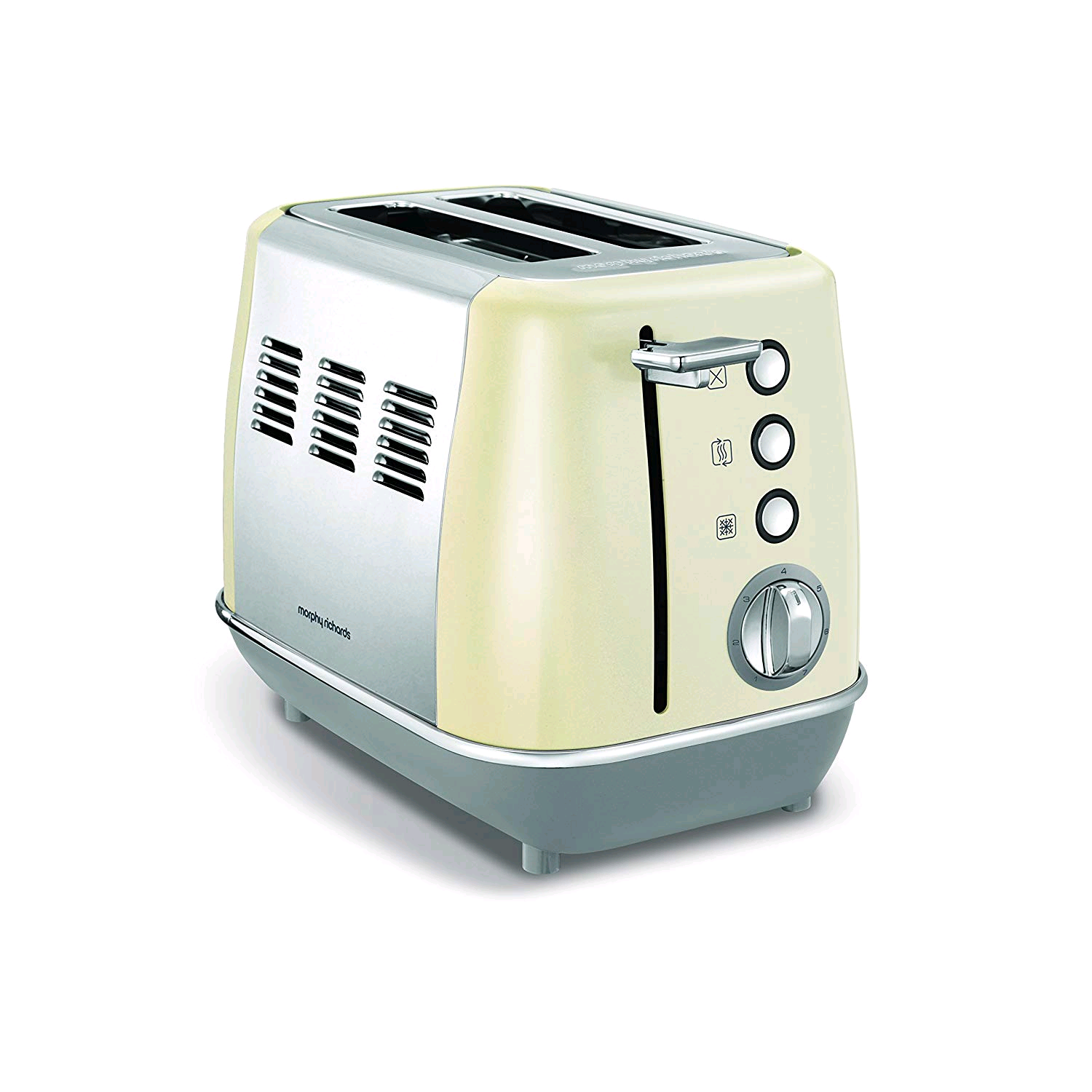 Morphy Richards Evoke 2 Slice Toaster Cream