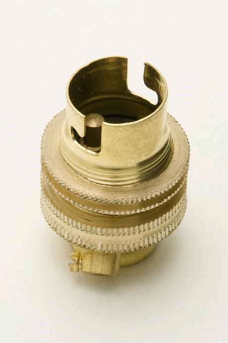 "Jeani SBC Brass Lampholder 1/2"""