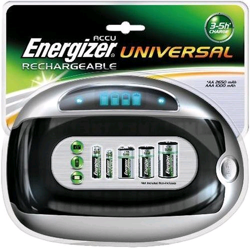 Energizer Accu Recharge Battery Charger