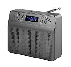 Akai Portable DAB Radio with Alarm Clock 0080395