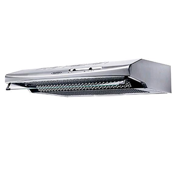 Hotpoint PSLCSE65FASX Visor Cooker Hood 60Cm 3 Speed Stainless steel