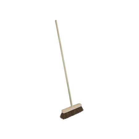 Faithfull Bassine Broom 12in c/w 48in Handle