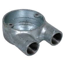 "Galvanized ""U"" Box 20mm"