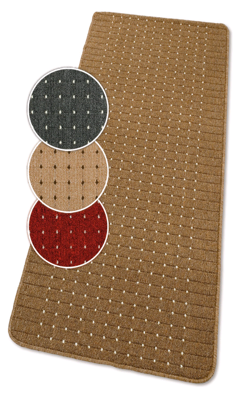 Dandy Stanford Area Rug 180x67 Lead Washable Mats