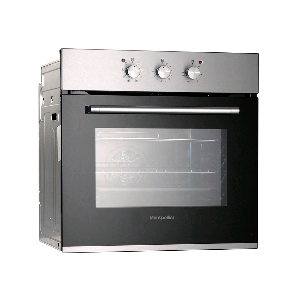 Montpellier Single Oven Electric Stainless Steel Built in