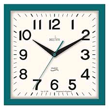 Acctim Rydon Wall Clock with Non-Ticking Hands