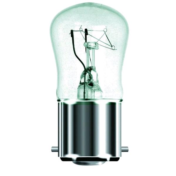 Lamp Pygmy 25w BC Clear