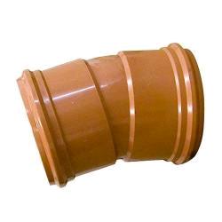 Floplast 160mm Double Socket Bend 15deg 6D567