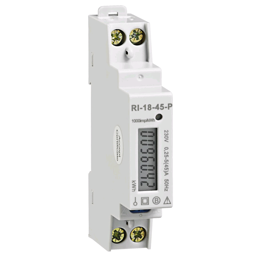 Europa 45A 1 Mod kWh Meter