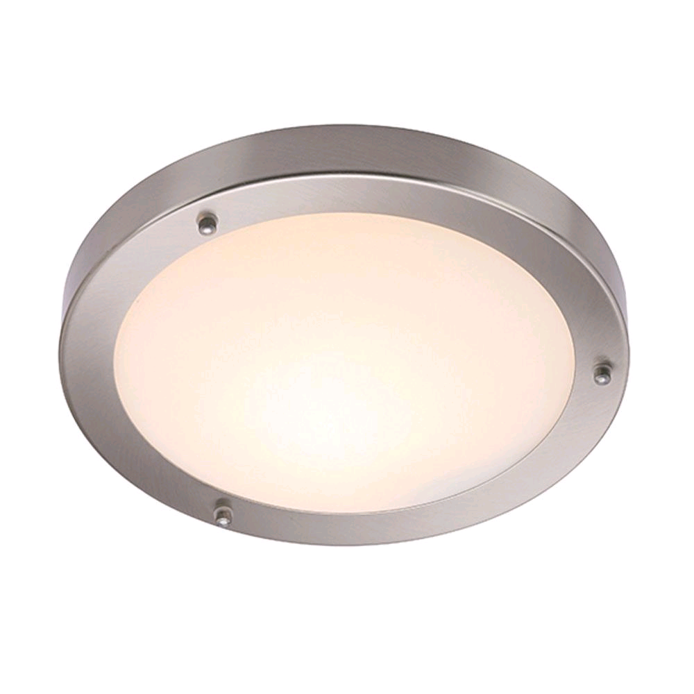 Saxby Portico Large IP44 60W Flush Fitting