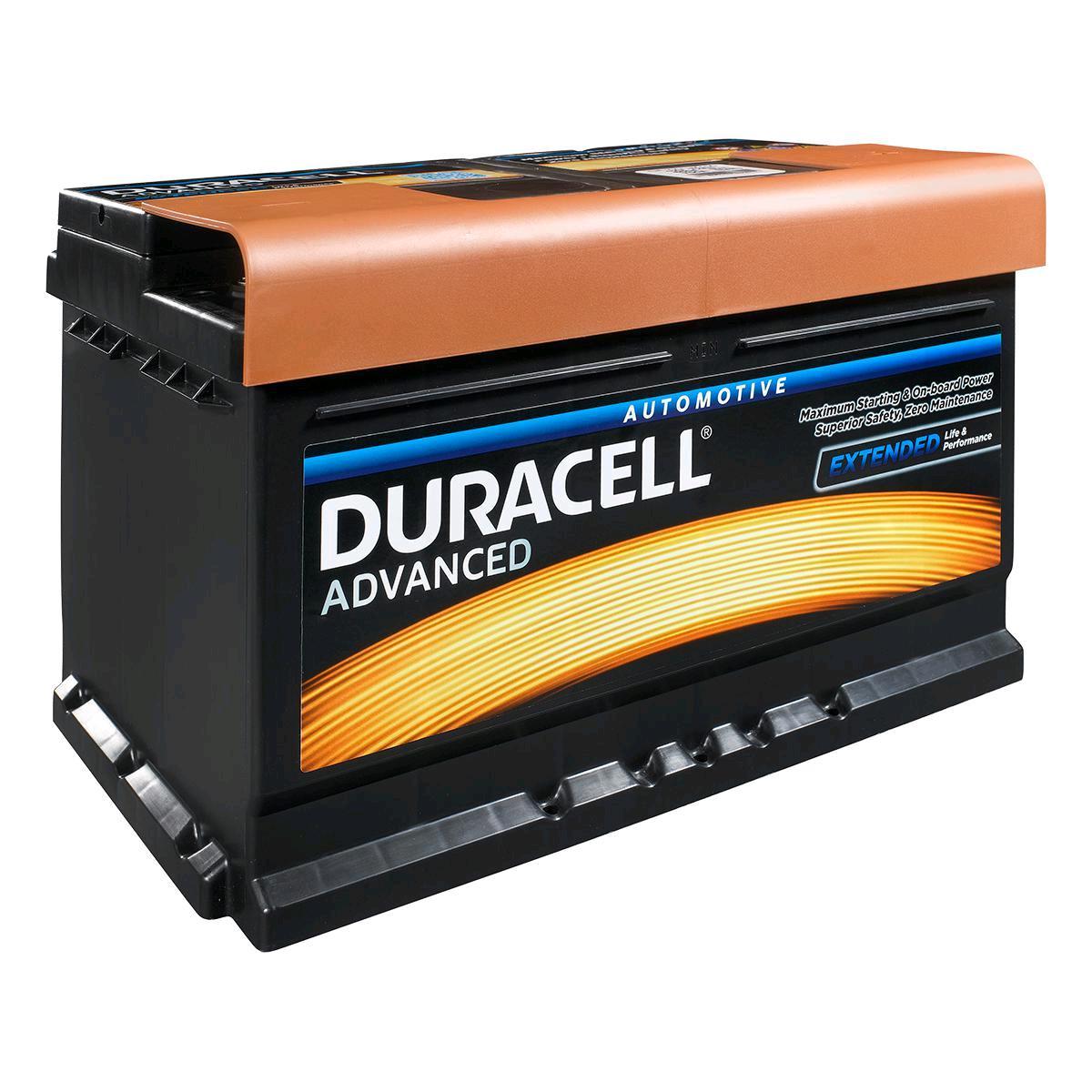 Duracell Battery 12V 80Ah 750A Silver High